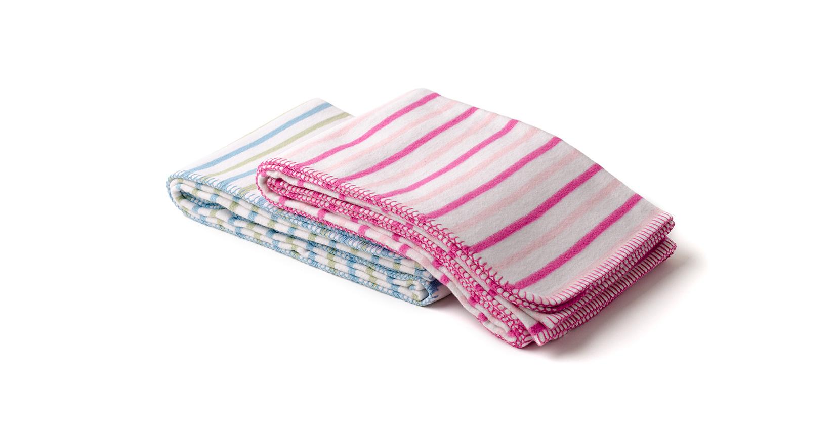 Baby blankets, cobertores bebé - Calypso